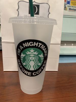 The Nightmare before Christmas Starbucks cup for Sale in Laveen Village, AZ