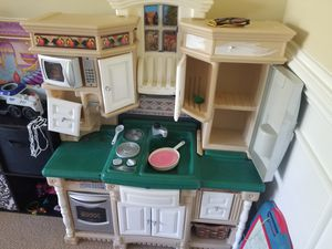 Kids kitchen with food for Sale in Holly Springs, NC
