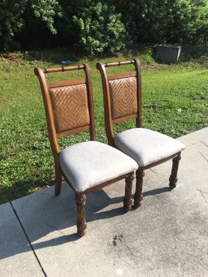 Tommy Bahama Style Office Chairs ~ 🚗 DELIVERY AVAILABLE for Sale in Bonita Springs, FL