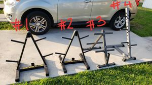 Weight Tree | Plate Storage | Barbell Holder for Sale in Miami, FL