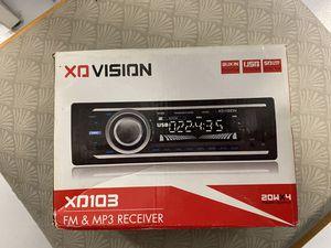 Car radio XD vision FM & MP3 new in box for Sale in Boynton Beach, FL