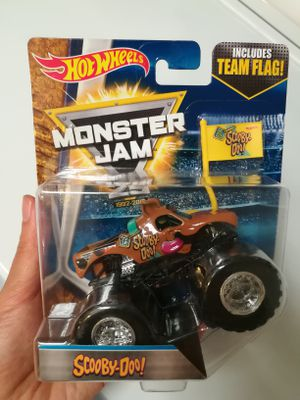 Hot wheels monster jam 25th anniversary scooby doo toy car for Sale in Mount Hope, KS