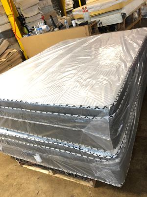 Jumbo pillow tops for Sale in Matteson, IL