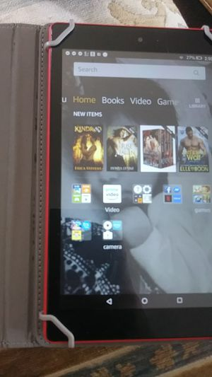 Kindle fire with alexa case included for Sale in Columbus, OH