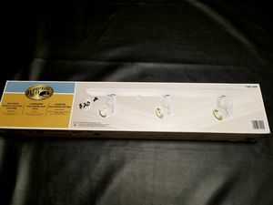 Brand New White Hampton Bay 3-Light Halogen Track Light. for Sale in Danville, VA
