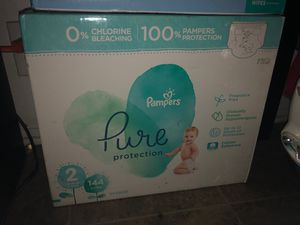 Diapers NEVER OPENED SIZE 2 for Sale in Hemet, CA