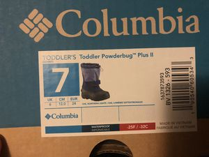 Columbia Toddler snow boot for Sale in Worcester, MA