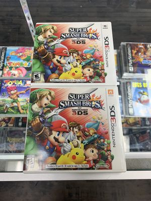 Super smash bros 3ds $25 each Gamehogs 11am-7pm for Sale in East Los Angeles, CA