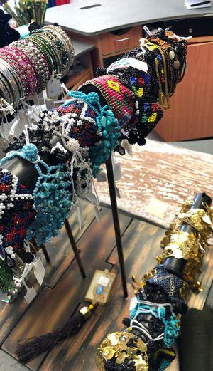 Hand beaded bracelets (34 pcs) for Sale in Avon, IN