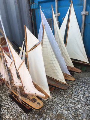 Vintage Wooden model ships and sail boats for Sale in Stevenson Ranch, CA