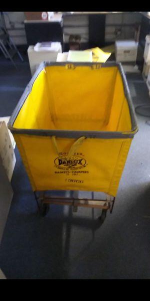 CANVAS BASKET HAMPER!! for Sale in San Jose, CA