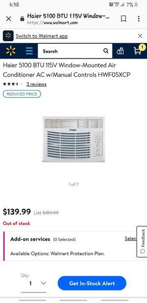 Haier AC window unit for Sale in Denver, CO