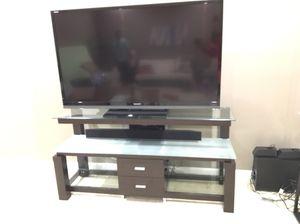 Multi tiered media/ tv stand for Sale in Sterling, VA