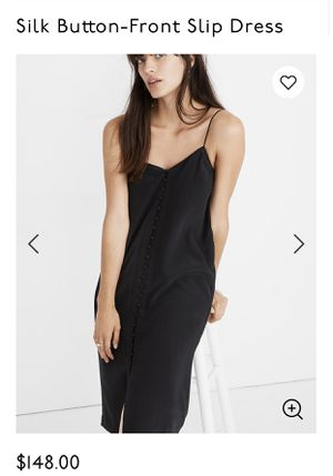 Madewell Silk Black Dress Size 2 for Sale in Tacoma, WA