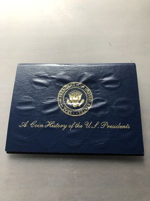 Coin history of US Presidents. for Sale in Portland, OR