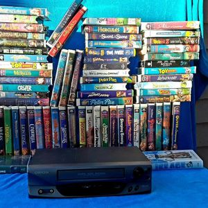VHS (Disney movies) & VCR for Sale in Selma, CA