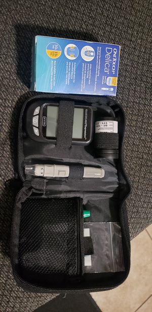 Diabetic tester and lancets for Sale in Upland, CA