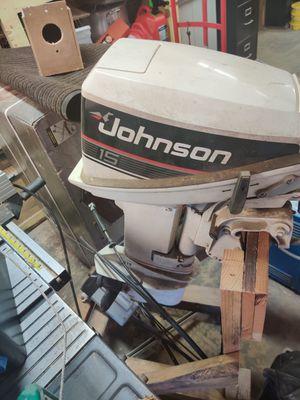 Johnson 15 2 stroke motor for Sale in Nipomo, CA
