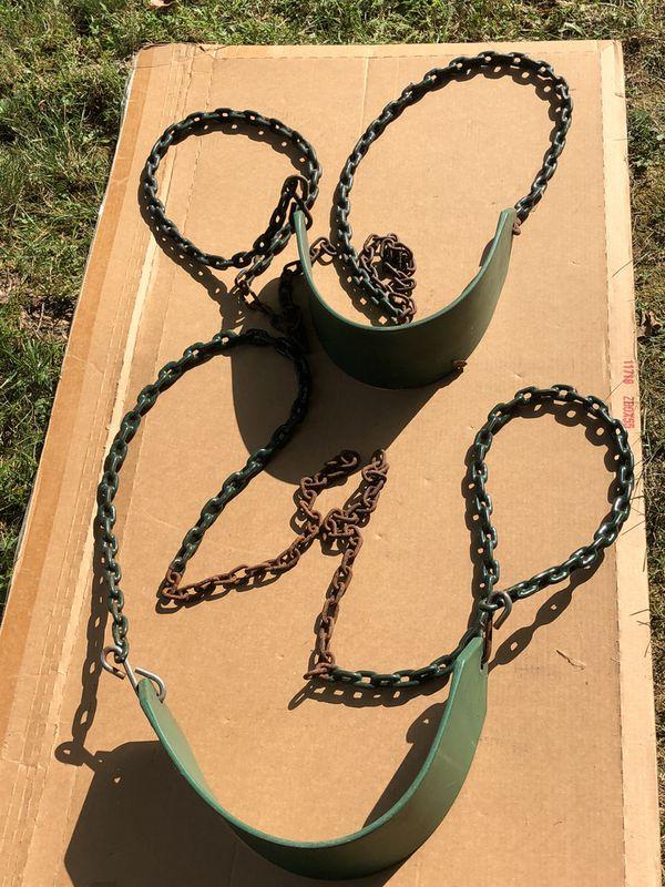 Green Swings set of two