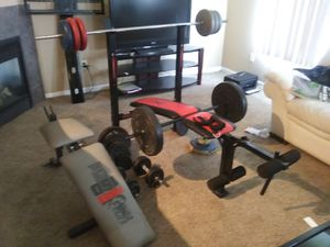 Lifting weights for Sale in Sterling Heights, MI