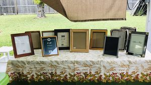 Brand nd new and used 8x10 frames $2-$4 for Sale in La Porte, TX
