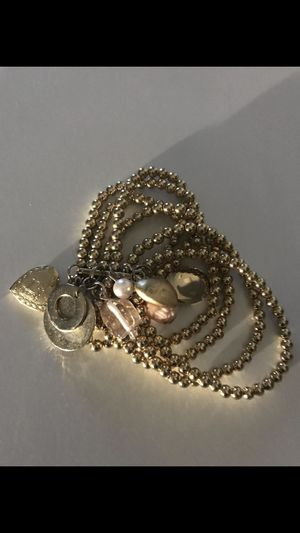 Bracelet with charms and 2 lockets for Sale in Springfield, VA