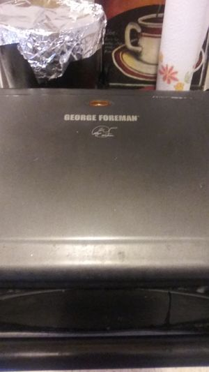George Foreman grill $40.00 o.b.o. for Sale in Tampa, FL