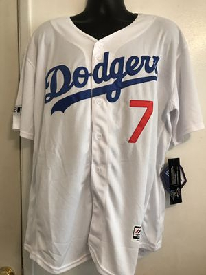 Dodgers baseball ⚾️ jersey of Julio Urías style for man size xlarge for Sale in Ontario, CA