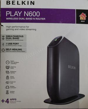 Belkin N600 Router for Sale in Phoenix, AZ