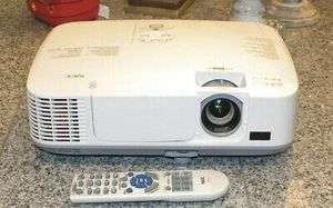 NEC HDMI movie tv projector to use with ps4 xbox one macbook or laptop for Sale in San Diego, CA
