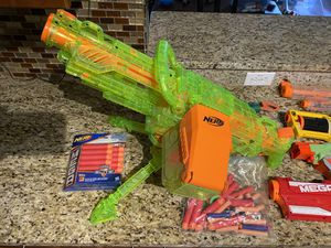 8 NERF Guns with soft tip projectiles for Sale in Boynton Beach, FL