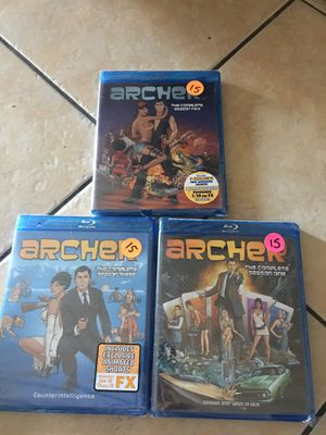 Archer blue ray series collection 1-3 for Sale in Las Vegas, NV