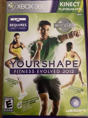 XBOX 360 YourShape (Fitness Evolved) 2012 game for Sale in Holly Springs, NC