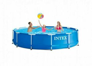 Intex 28200EH 10 Foot x 30 Inch Above Ground Swimming Pool (Pump Not Included) for Sale in Fresno, CA
