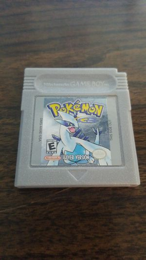 Pokemon Silver for Sale in Pittsburgh, PA