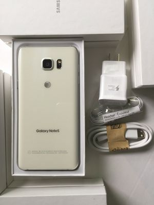 Samsung Galaxy note 5 : Excellent Condition , Factory unlocked. for Sale in Springfield, VA
