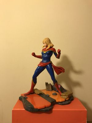 Marvel Vs Capcom Infinite Figure Captain Marvel 8 Inches Tall Figure Great Condition for Sale in Reedley, CA