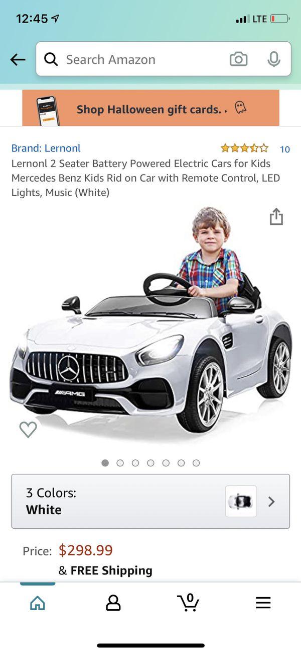 Black Friday Off 150$ Car Kids Benz
