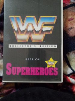 Wwf Collector's Edition Best Of Superheroes for Sale in Chicago,  IL