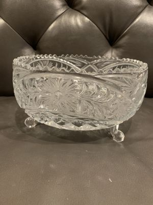 Big glass bowl for Sale in Puyallup, WA