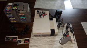 NES Nintendo with 24 games for Sale in St. Peters, MO