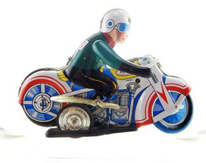 Vintage Tin Wind Up Motorcycle Racer MS-702 China for Sale in Bakersfield, CA