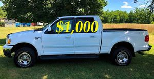 $1,OOO I'm seling URGENTLY 2OO2 Ford F-150 XLT Super Crew Cab 4-Door Pickup Everything is working great! Runs great and fun to drive!!!! for Sale in Washington, DC