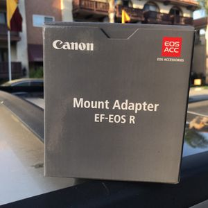 Canon EF - EOS R mount adapter for Sale in Torrance, CA