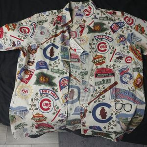 Cubs Aloha Jersey Reyn Spooner Anniversary Edition for Sale in Berwyn, IL