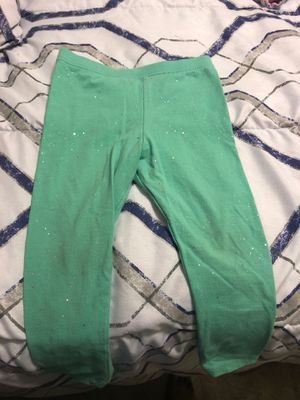 Green/blue with sliver specs leggings for Sale in Converse, TX
