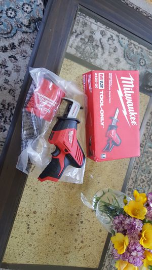 Milwaukee M12 12-Volt Lithium-Ion HACKZALL Cordless Reciprocating Saw (Tool-Only for Sale in Chula Vista, CA