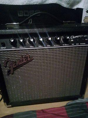 Fender champion 20 amp & Dean Vendetta electric guitar for Sale in Carson, CA