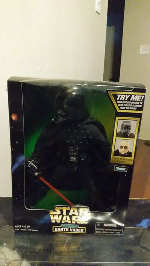 Electronic Darth Vader Doll Action Figure for Sale in Detroit, MI