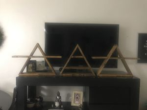 Triangle wood shelves for Sale in Hialeah, FL